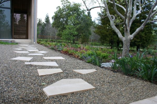 Geometric Pavers For Small Garden