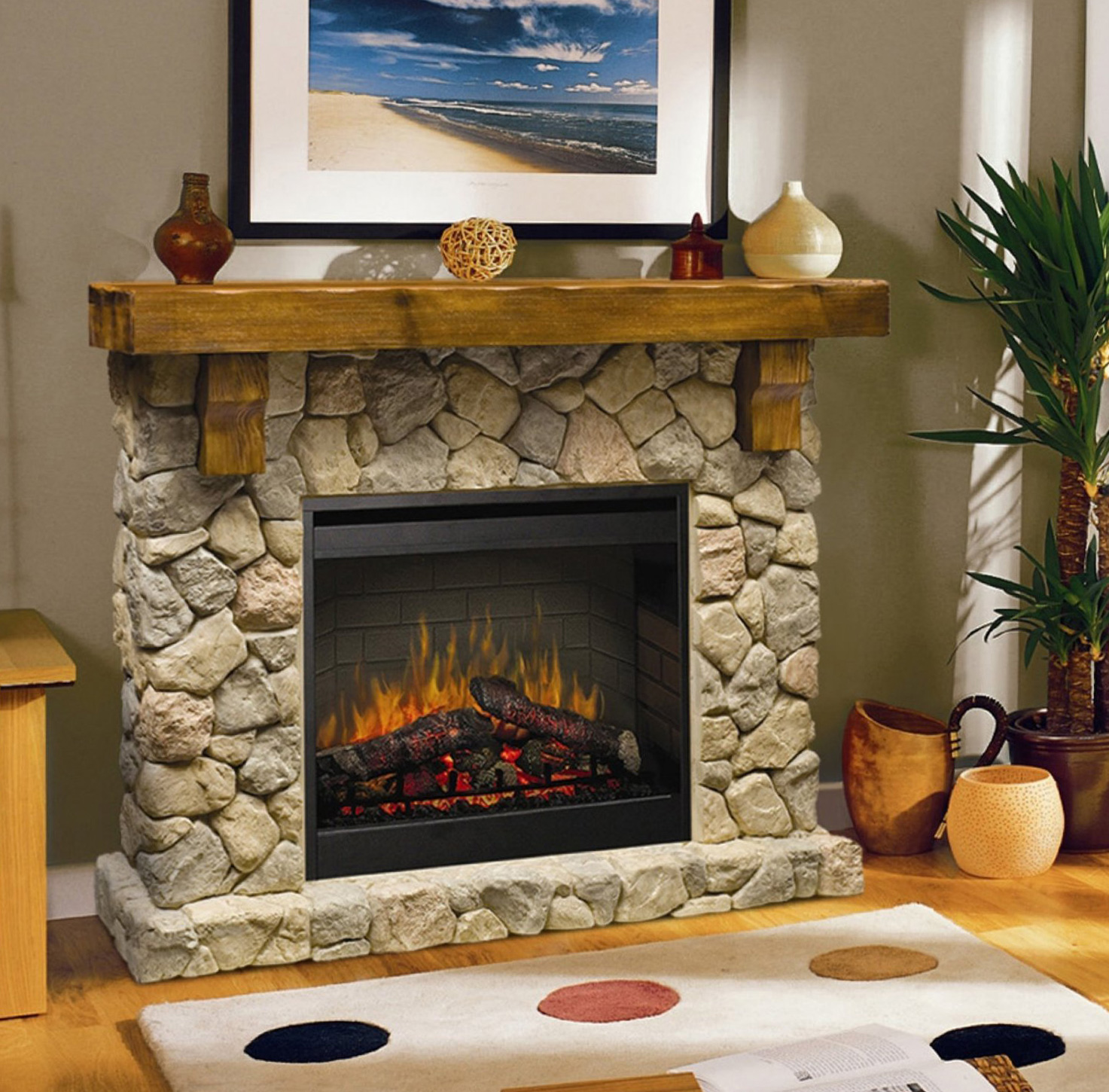 20 Best Ventless Fireplace Ideas and Designs To Beautify ...