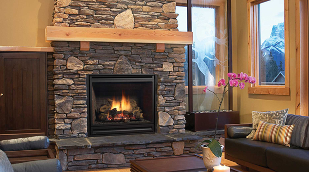 Modern Fireplace Layout