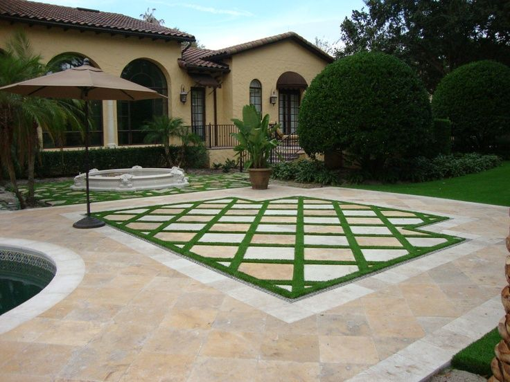 Paving Cover Frontyard Landscaping Ideas
