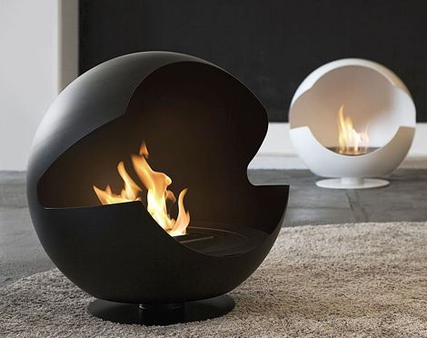 Portable Floorspace Fireplace
