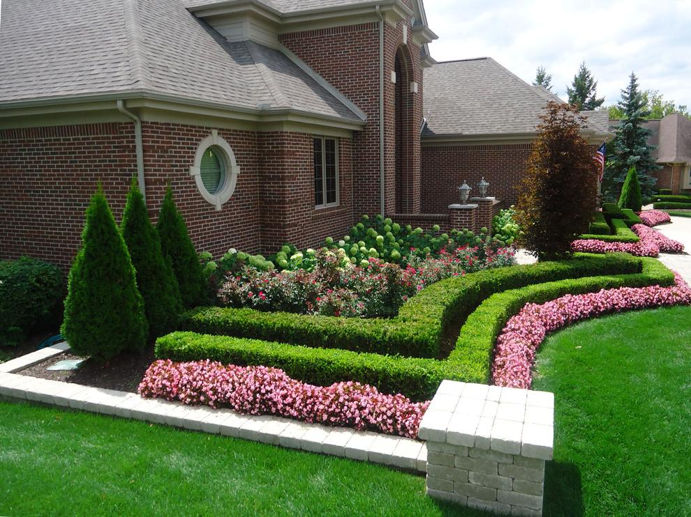 54 brilliant front yard landscaping ideas that surprise for Outdoor garden ideas house