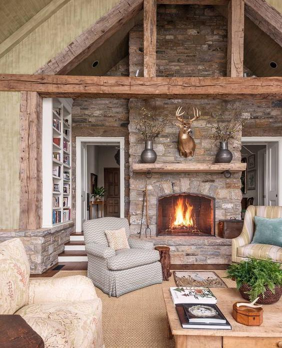 rocky-fireplace-design