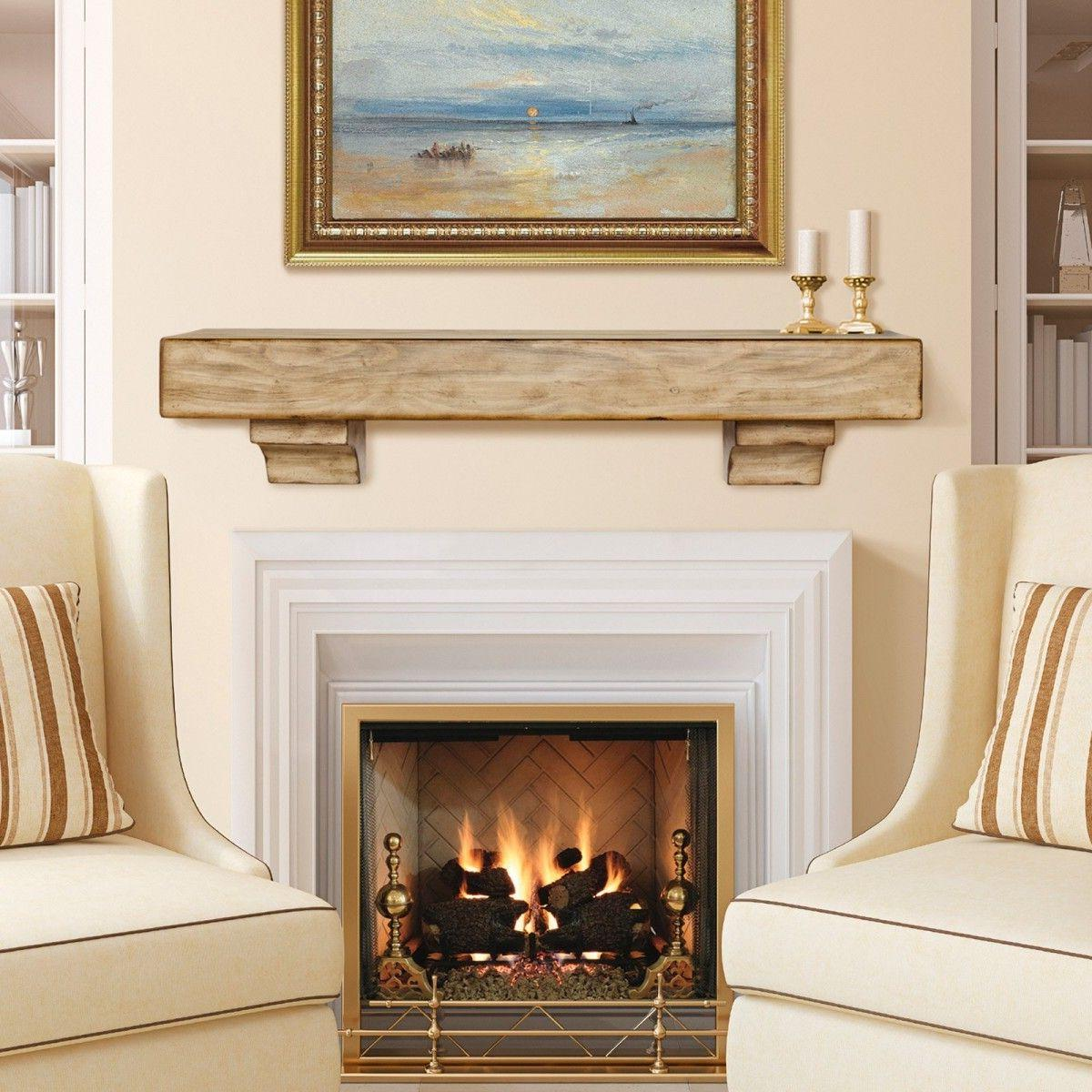 Simple Mantel Ideas: 30 Best Fireplace Mantel Ideas And Designs To Brighten Up