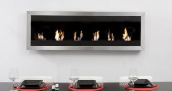 Swanky Smokeless Fireplaces