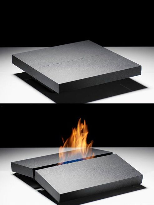 The Slab Effect Fireplace