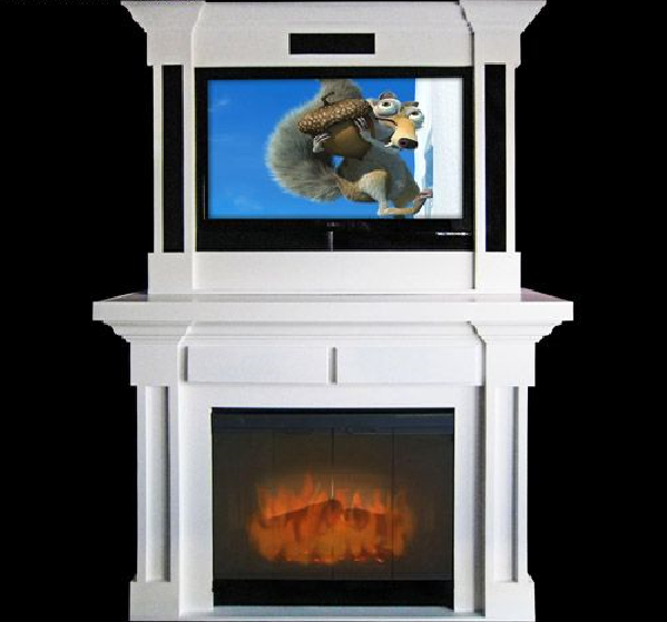 traditional-media-fireplace