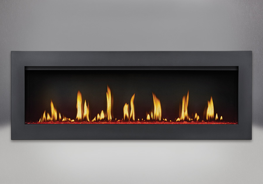 White Hot Flames Fireplace