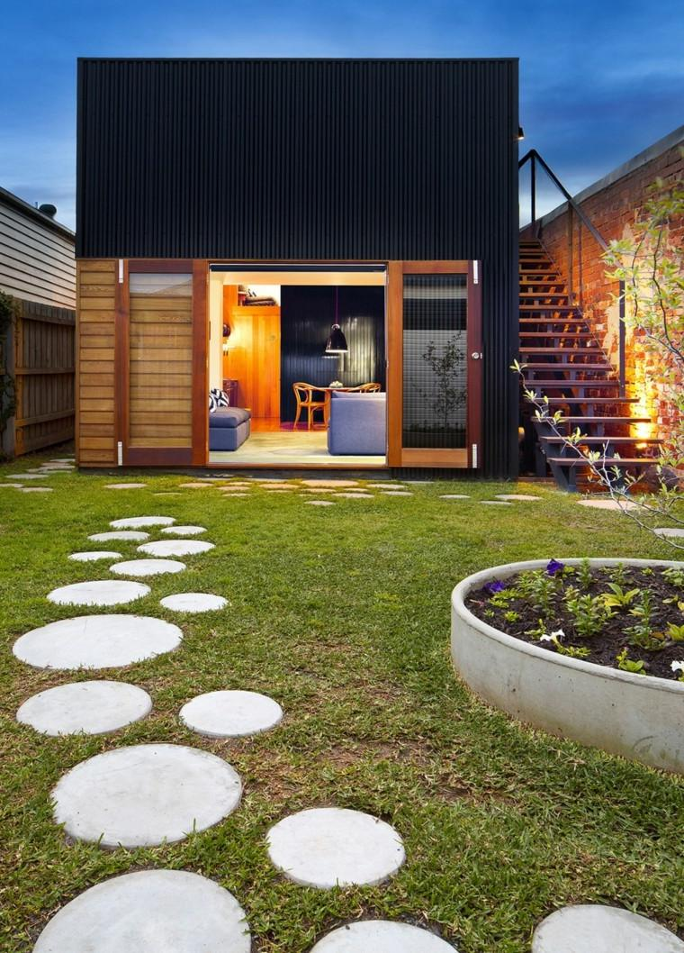 54 brilliant front yard landscaping ideas that surprise for Jardin moderne contemporain