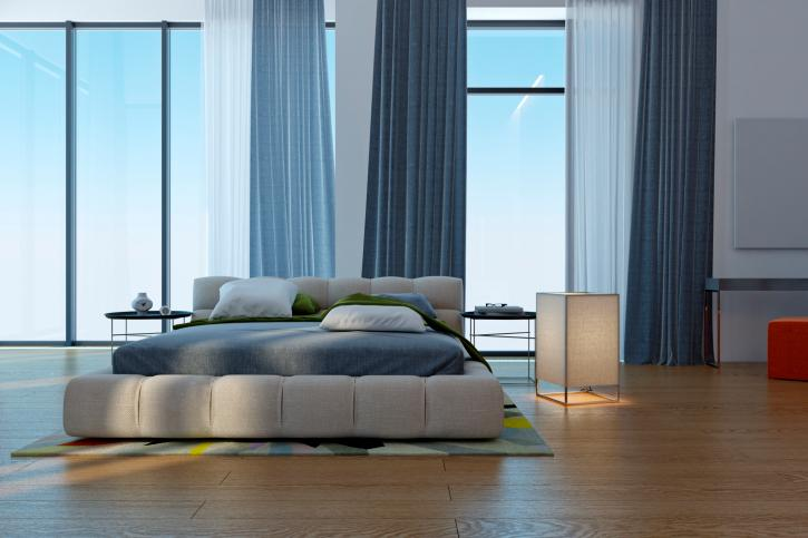 bedroom-design-with-blue-tone