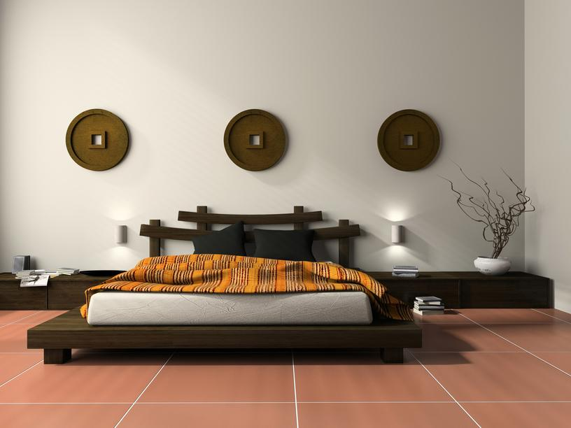 low-platform-bedroom-with-red-tile