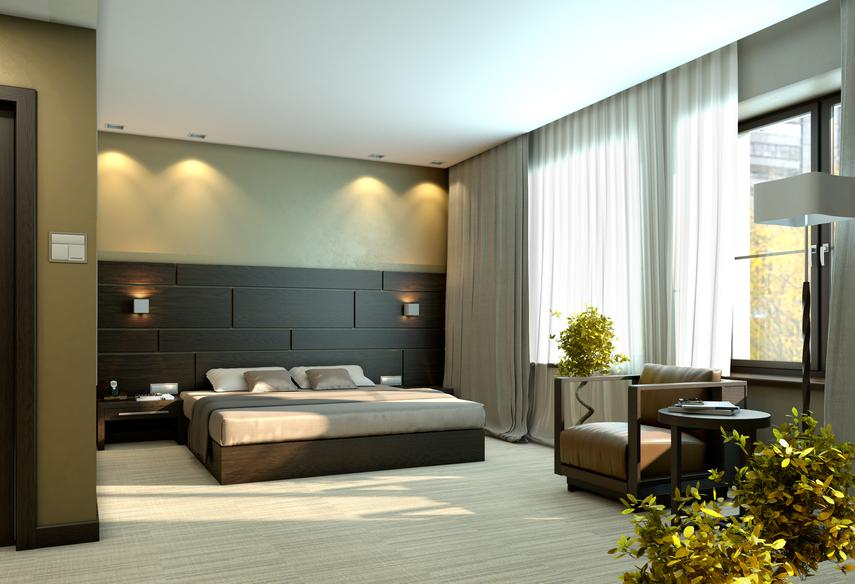 modern-bedroom-with-black-and-green-design