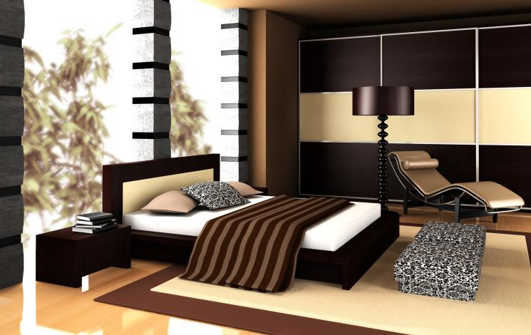 modern-bedroom-with-black-and-light-wood-floor-design