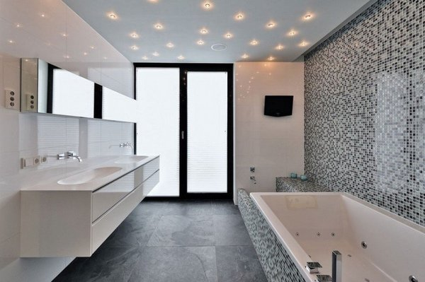 Floating Elements Bathroom