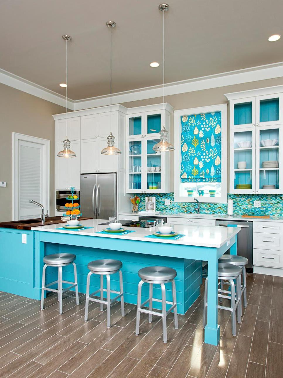 Teal Blue Kitchen Accessories