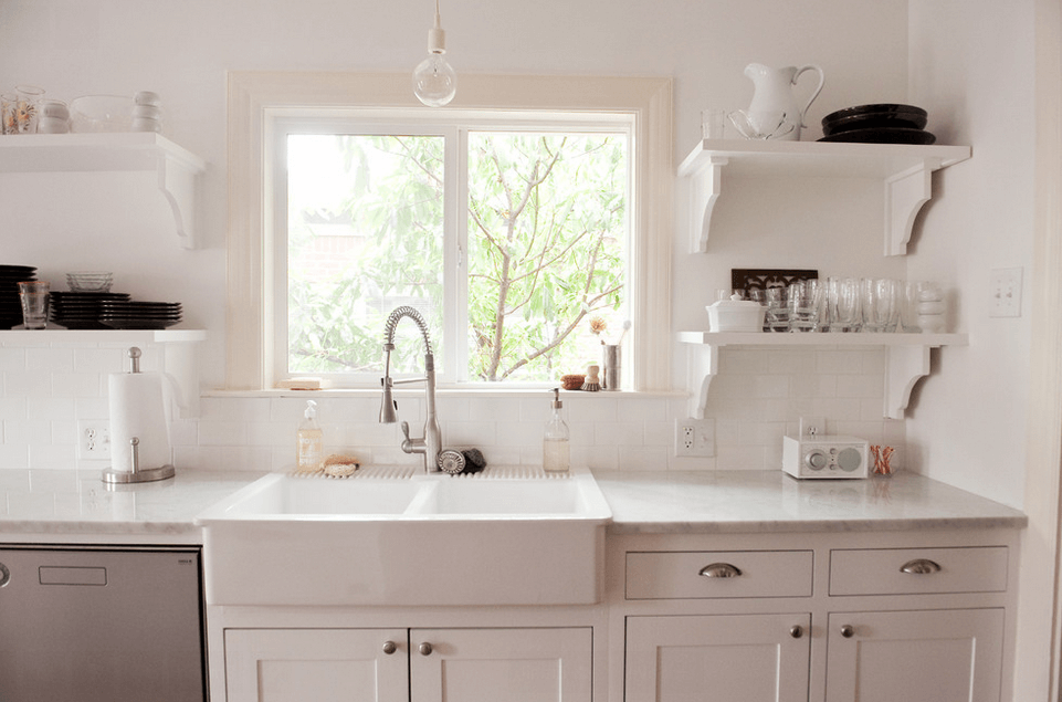 Charming White Sink