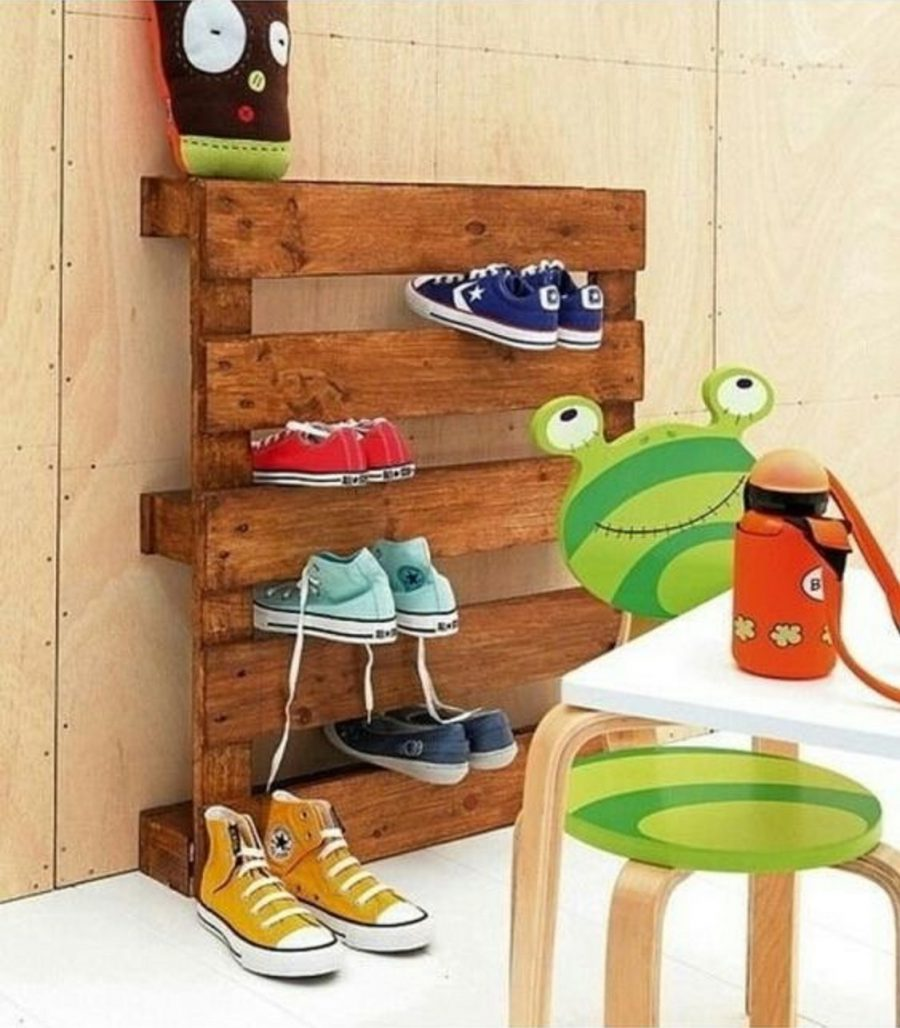 Adorable Ladder for Kid Shoes