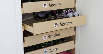 Adorable Shoe Drawer for Family