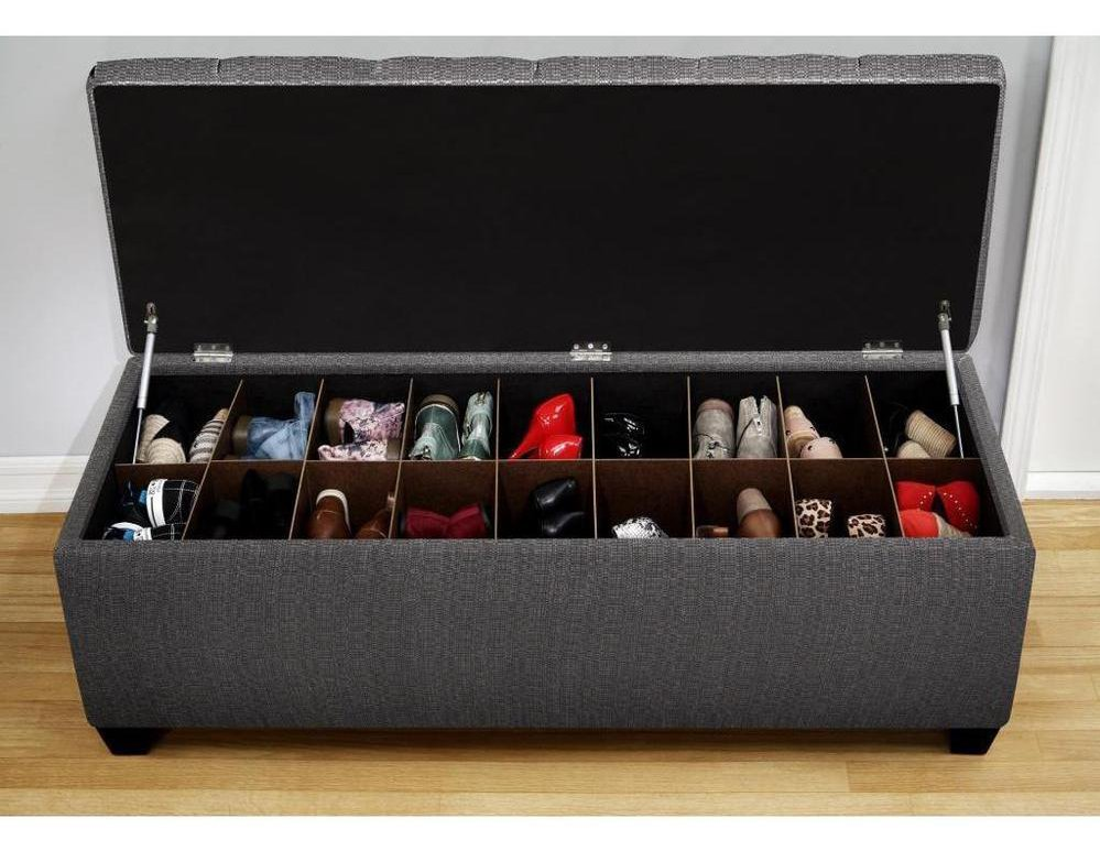 Sit Over the Shoe Storage