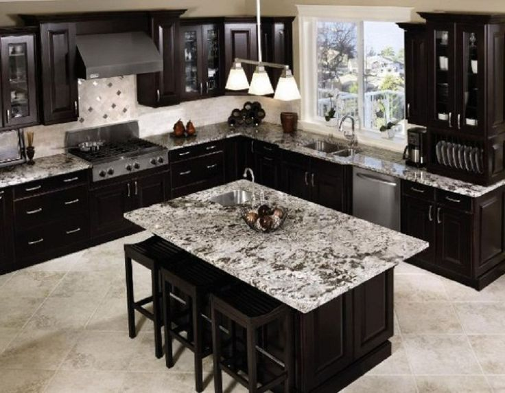 Captivating Black Kitchen Cabinets Part 20