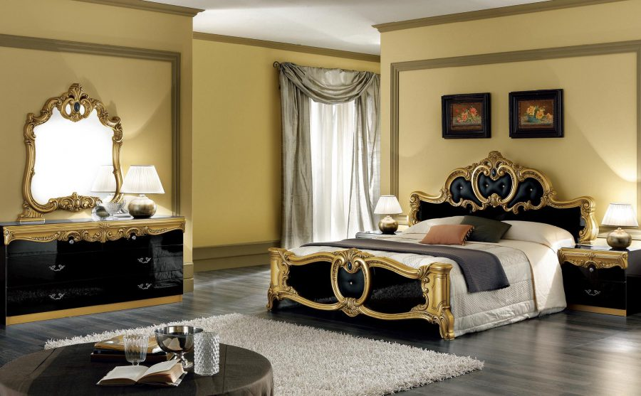 Black Vintage Bedroom Furniture & 30 Best Vintage Bedroom Decor Ideas - InteriorSherpa
