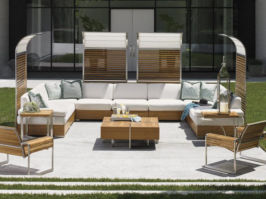 Lovely With Its Contemporary Design And Super Attractive Shiny Aluminum Finish,  This Stainless Steel Set Of Outdoor Furniture. Aluminum Is One Of The Best  ... Pictures