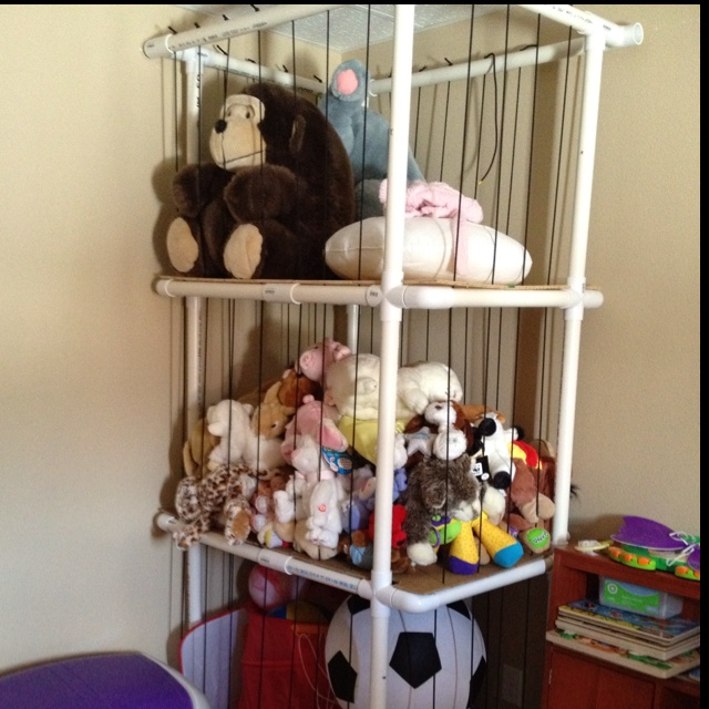 Animal toy storage ideas