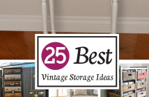 Best Vintage Storage Ideas