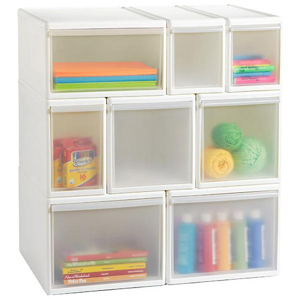 Intricate cubic toy storage ideas