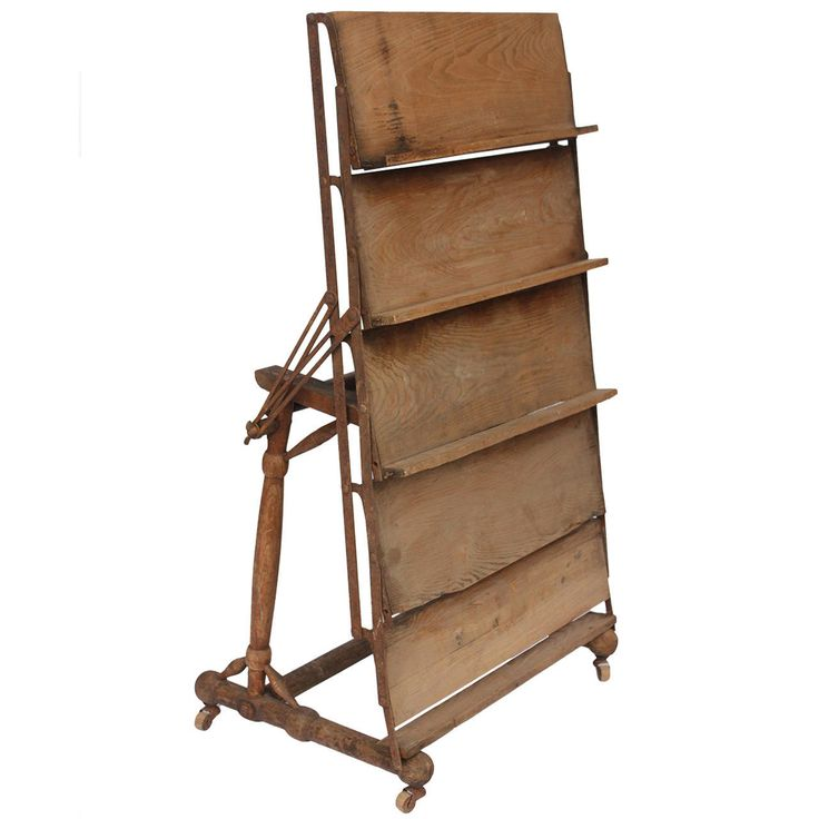 Old High Chair To Book Stand