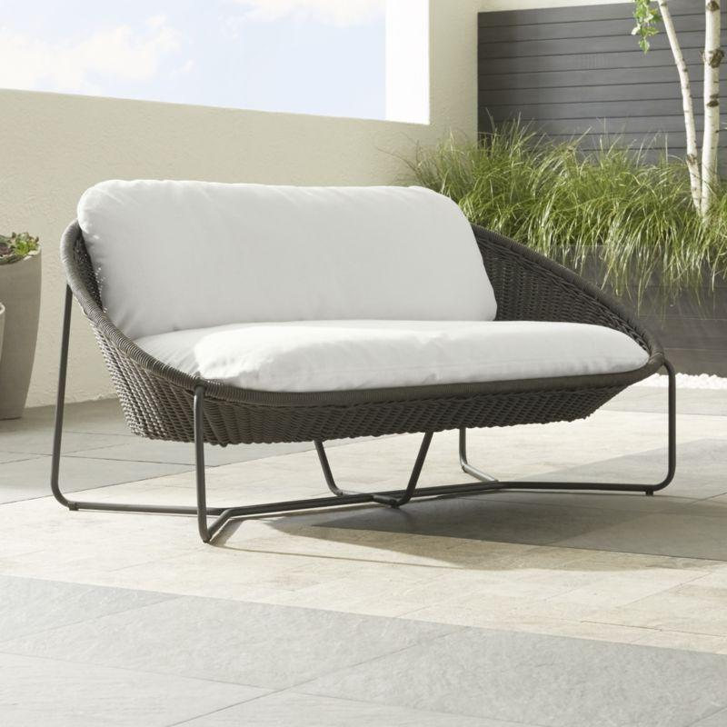 Outdoor Oval Love Seat
