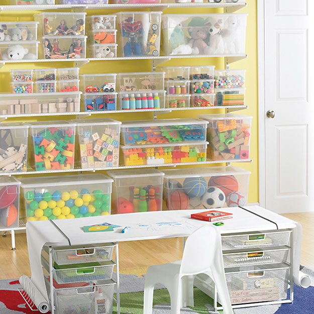 Play room toy storage ideas