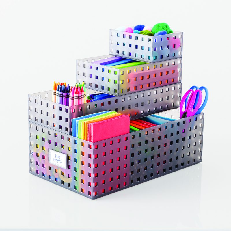 Stackable toy storage ideas