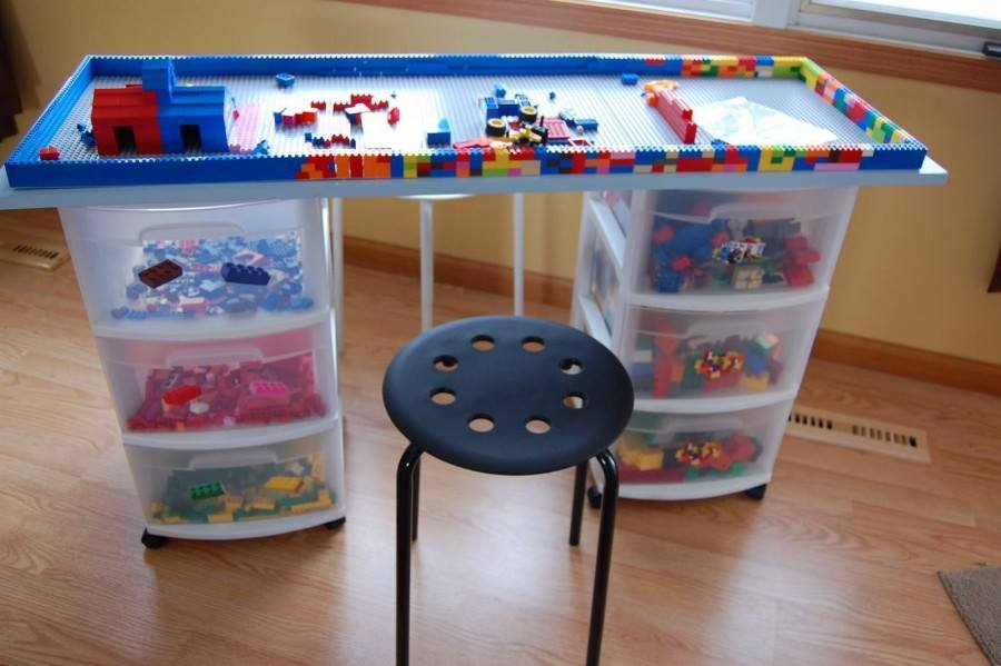 Toy storage ideas for the study room