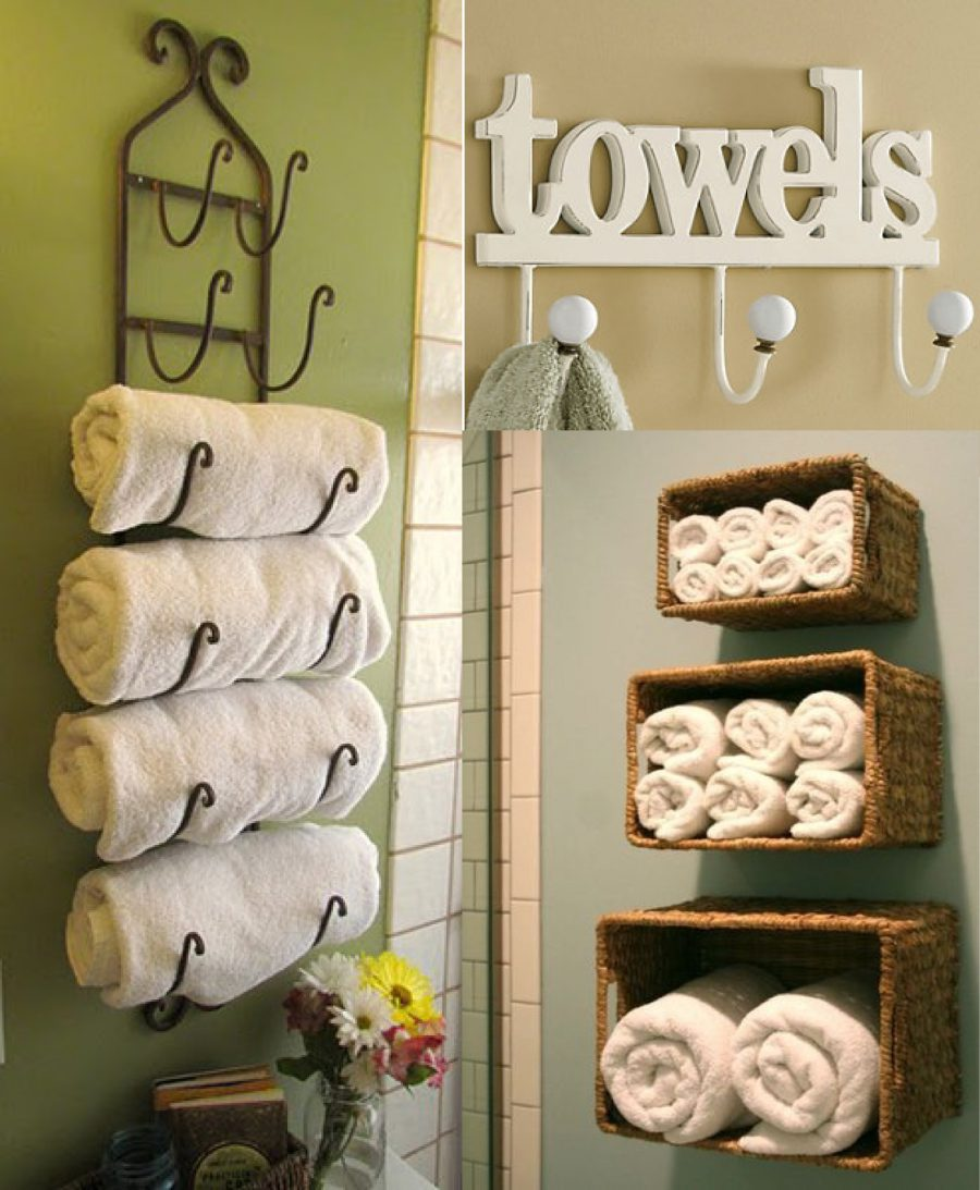 Turn-your-old-basket-into-a-Towel-stand
