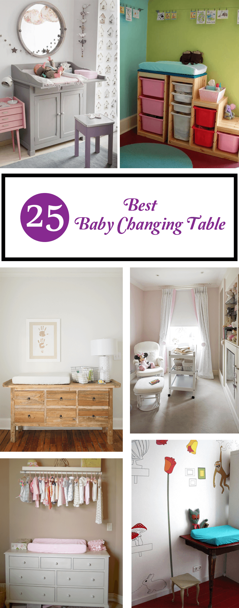 best baby changing table