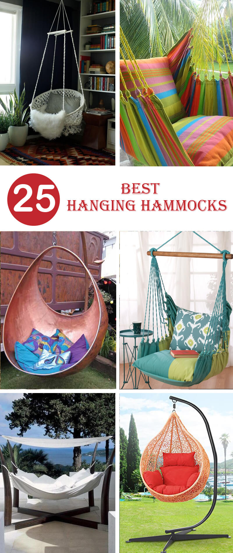 best hanging hammocks