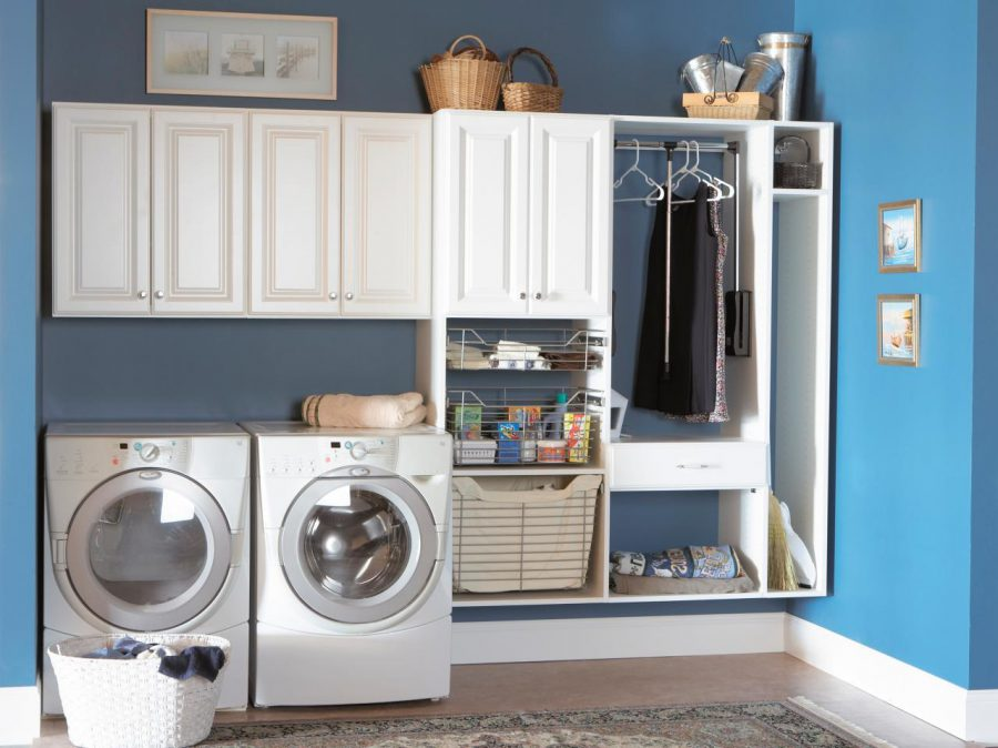 laundry room cabinets and storage