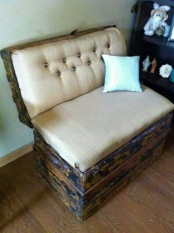 old chest to comfy sofa