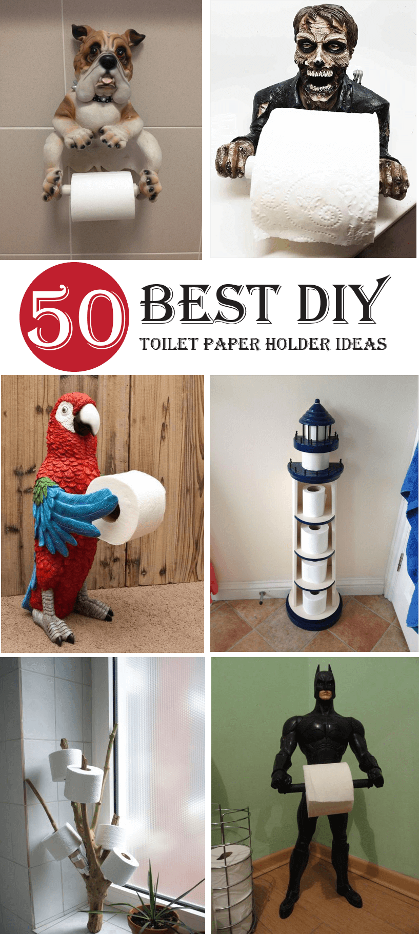 50 Best DIY Toilet Paper Holder Ideas and Designs Youll Love