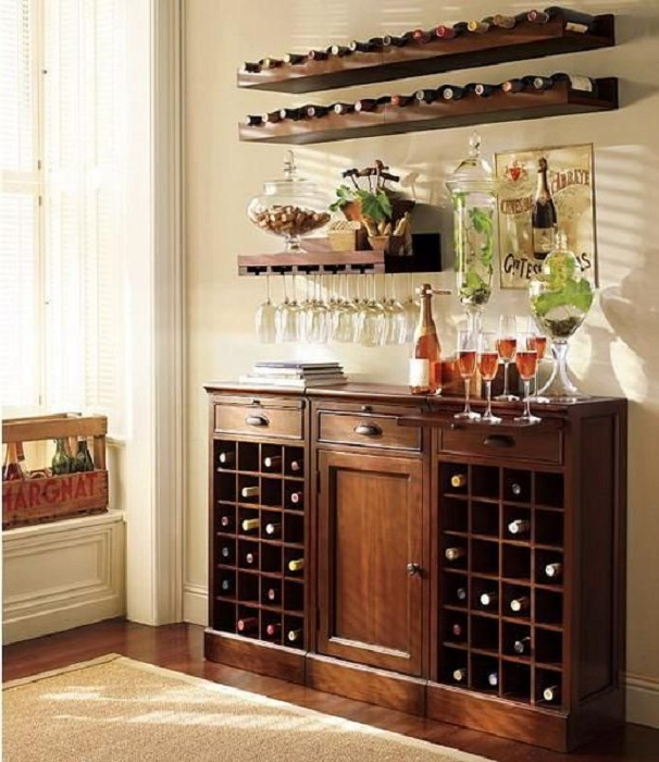 Chest Of Wine Storage Place