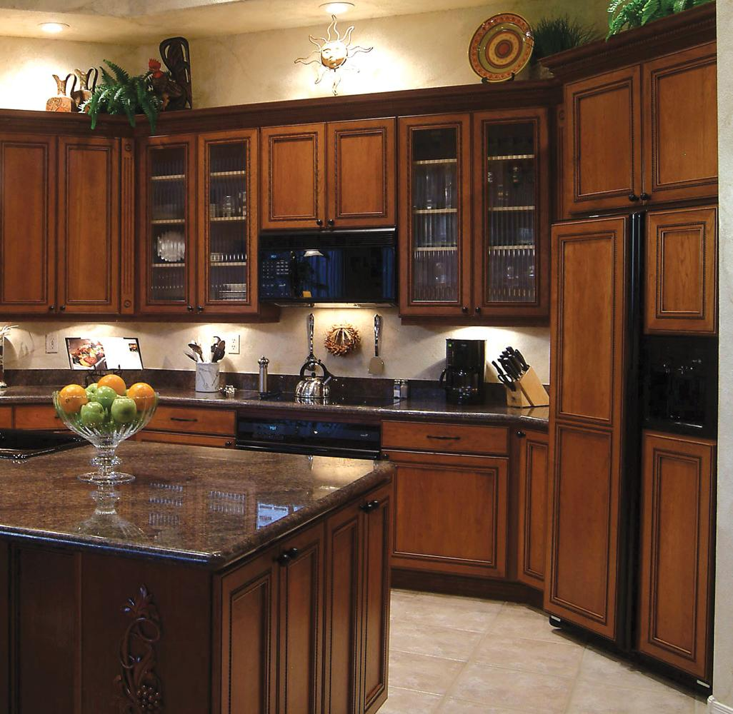 Stain Wood Cabinets In Kitchen