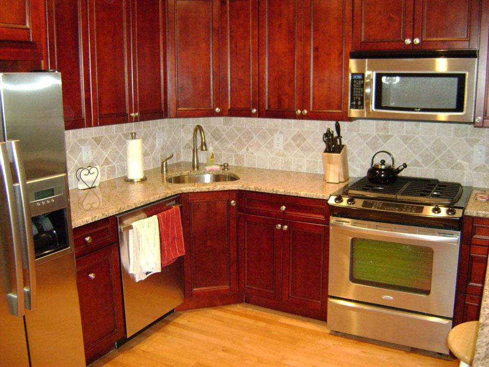 Corner Kitchen Remodeling Ideas