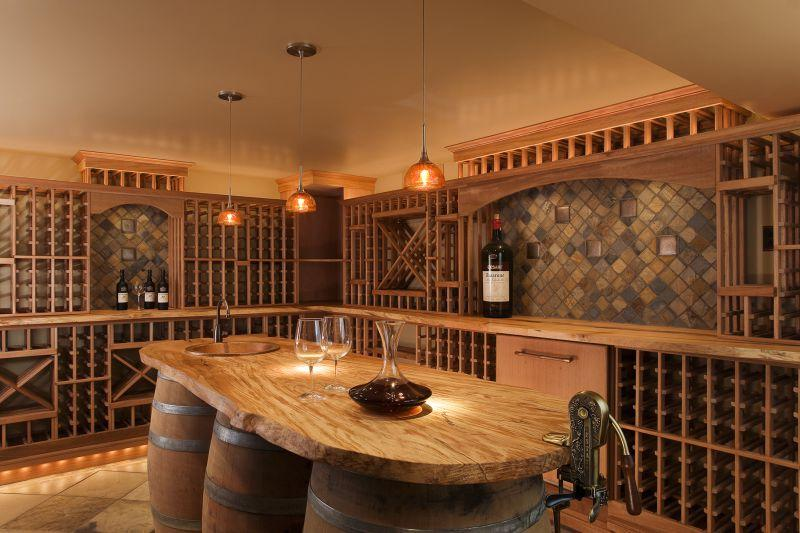 Country House Wine Cellar Design