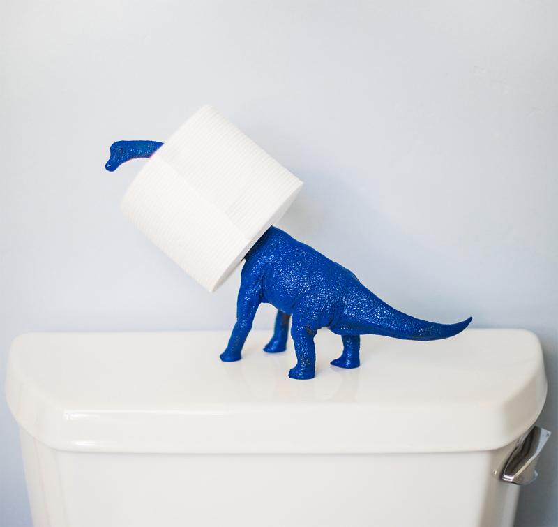 Dinosaur-Toilet-Paper-Holder-Ideas