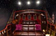 Retro Home Cinema Room Design
