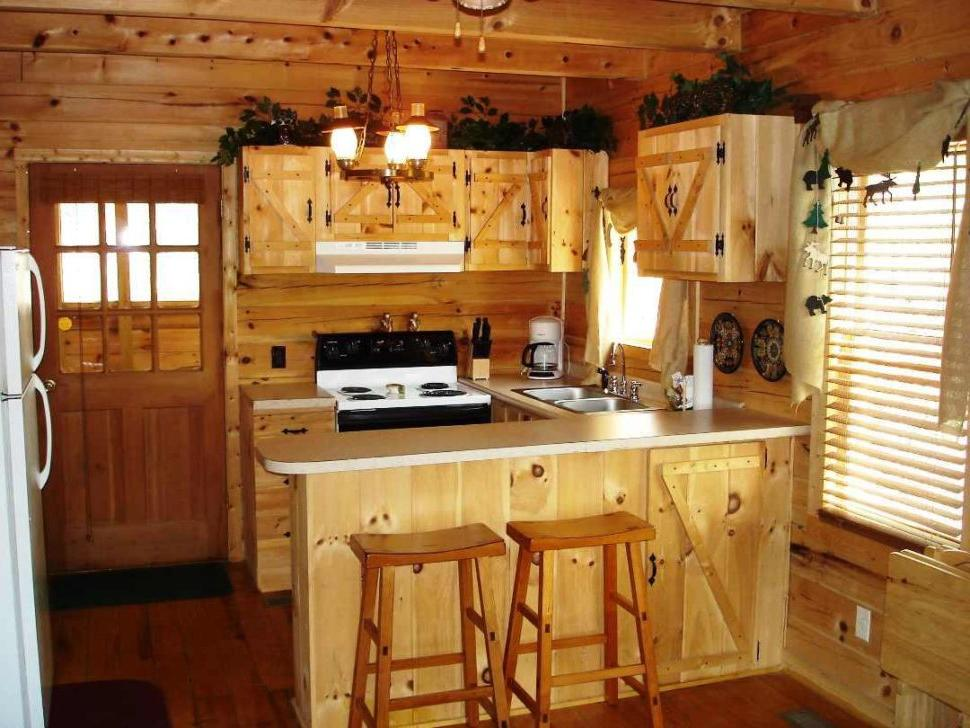 Rustic Kitchen Cabinet Refacing
