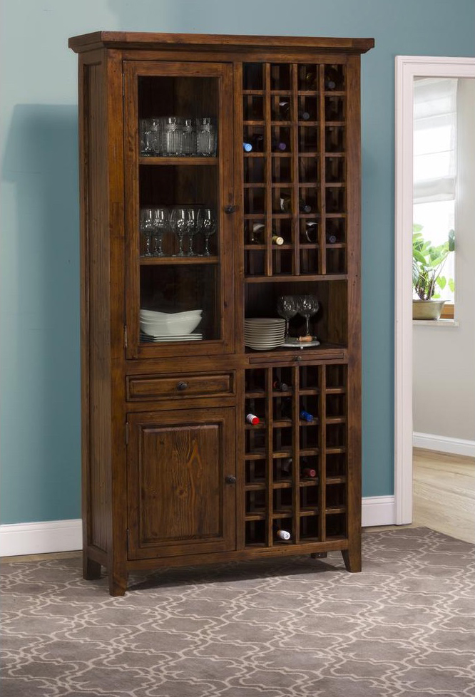 storage best cabinet wine stemware dream with cooler for l and rack