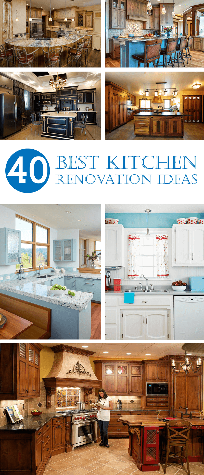 40 Impressive Kitchen Renovation Ideas and Designs - InteriorSherpa