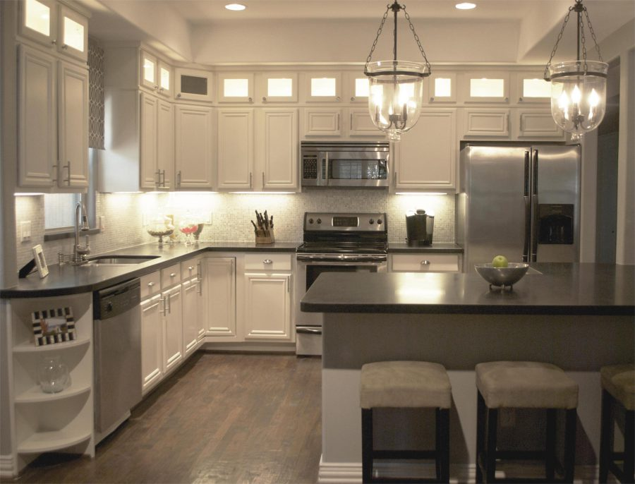 kitchen remodel ideas black granite